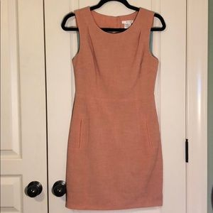 Esley peach dress with slits on back S